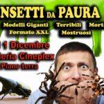 esposizione scientifica con diorami di insetti in collaborazione con museo zoologico di Capannoli presso galleria Cineplex