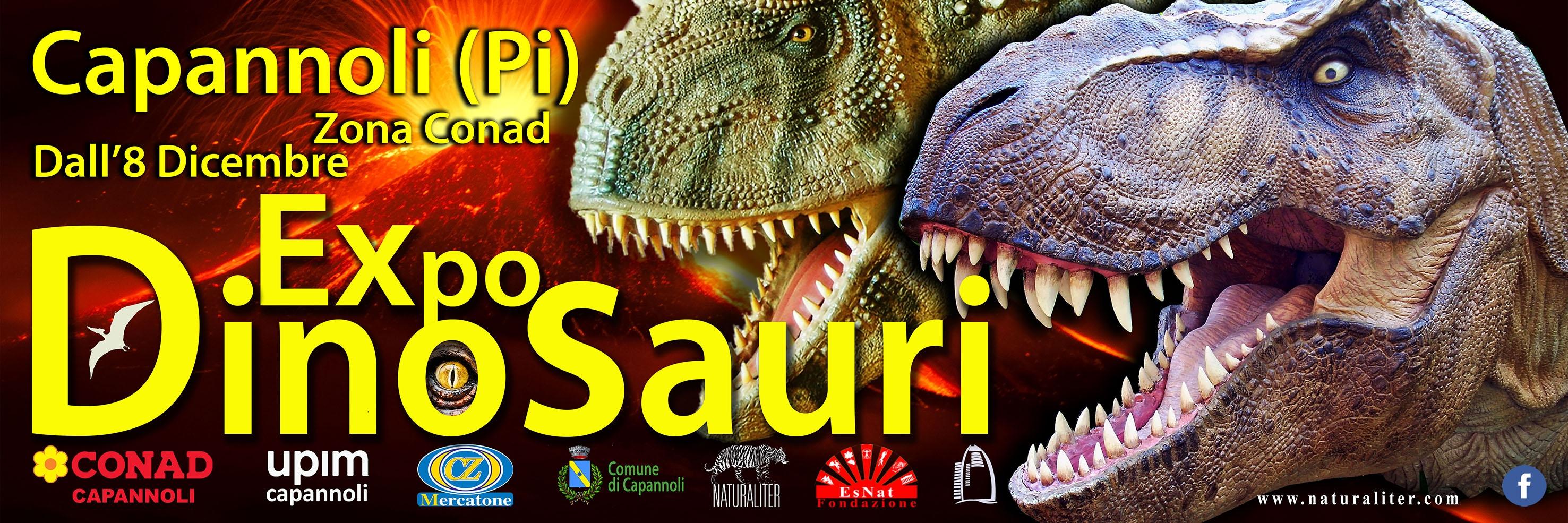 Expo dinosauri a Capannoli