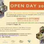 anche quest'anno open day per sbato 5 ottobre dalle ore 9.00 alle 13.oo promosso dalla rete museale valdera e ufficio turistico di pontedera per far conoscere